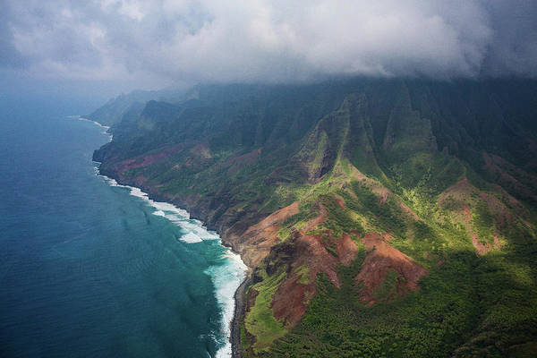 Photograph - Above Kauai by Steven Lapkin