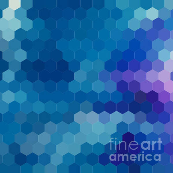 Wall Art - Digital Art - Abstract Background For Design by Melamory