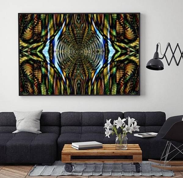 Digital Art - Abstract Caracause by Swedish Attitude Design