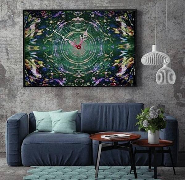 Digital Art - Abstract Cherry Blossom by Swedish Attitude Design