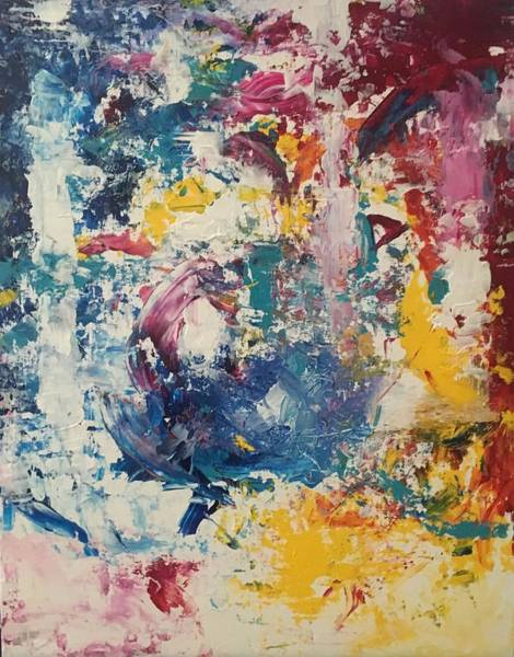 Painting - Playing With Color IIi by Crystal Stagg