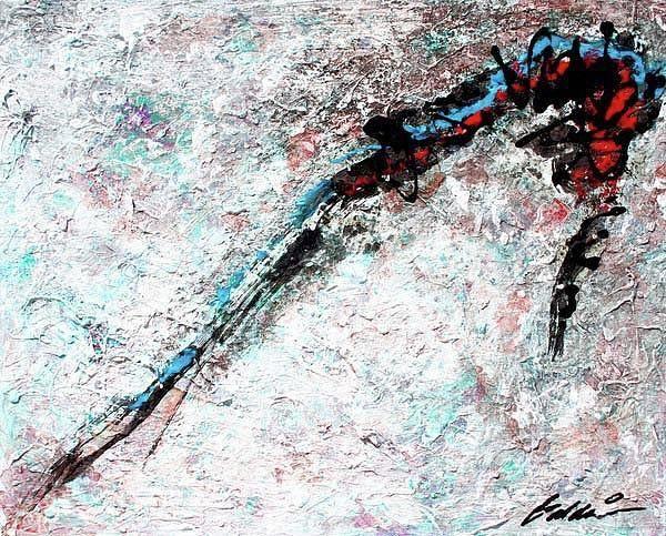 Painting - Abstract 201104 by Rick Baldwin