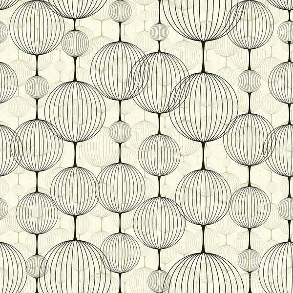 Repetition Wall Art - Digital Art - Abstract Seamless Pattern,  Background by Pgmart