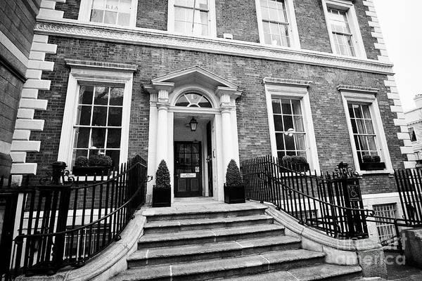 Wall Art - Photograph - academy house home to the Royal Irish Academy dawson street Dublin Republic of Ireland Europe by Joe Fox