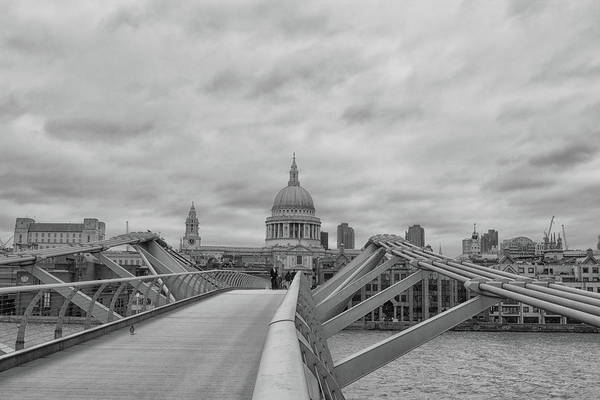 Wall Art - Photograph - Across The Bridge by Martin Newman