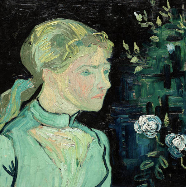 Wall Art - Painting - Adeline Ravoux, 1890 by Vincent van Gogh