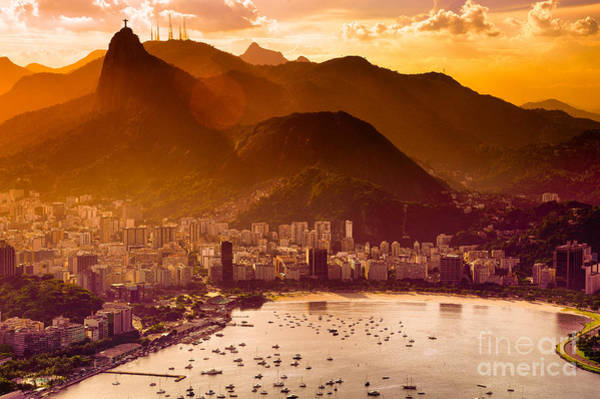 Wall Art - Photograph - Aerial View Of Buildings On The Beach by Celso Diniz