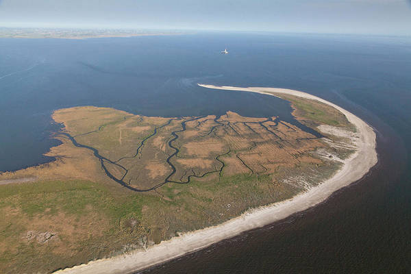 Wall Art - Photograph - Aerial View Of The Uninhabited Trischen by Karl Johaentges / Look-foto