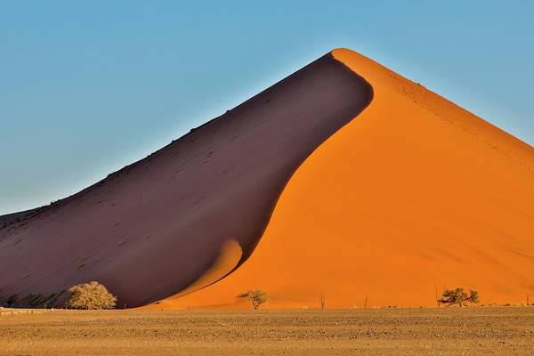 Wall Art - Photograph - Africa, Namibia, Sossusvlei Dune by Hollice Looney