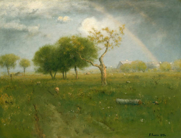 Painting - After A Summer Shower by George Inness