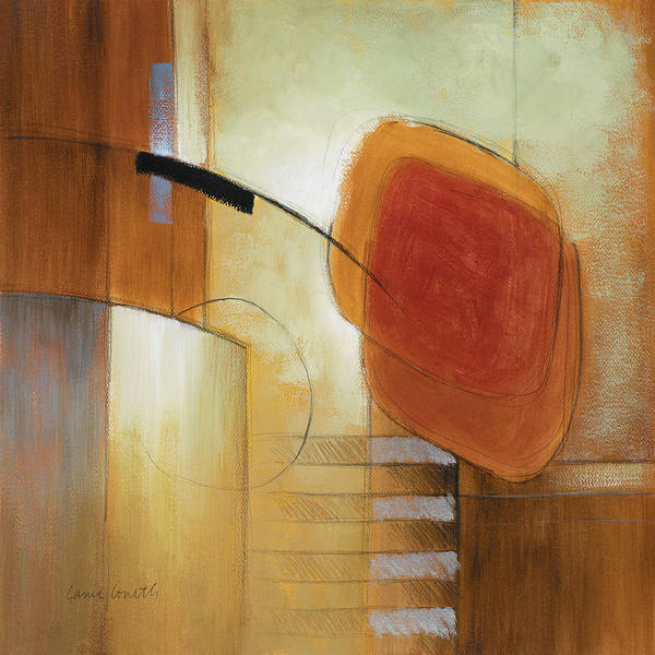 Wall Art - Painting - Afternoon In The City V by Lanie Loreth
