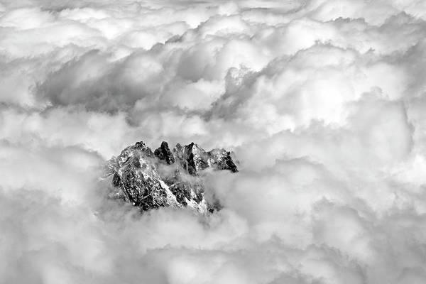 Mont Blanc Wall Art - Photograph - Aiguille Du Midi by Ellen Van Bodegom