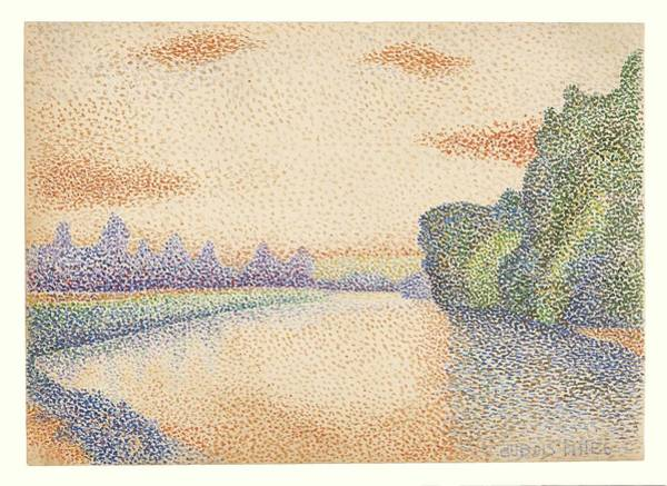 Wall Art - Painting - Albert Dubois-pillet  French, 1846 - 1890  The Banks Of The Marne At Dawn, About 1888 by Celestial Images