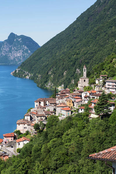 Wall Art - Photograph - Albogasio, Como Province, Lombardy by Ken Welsh