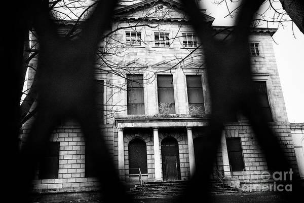 Wall Art - Photograph - aldborough house derelict georgian townhouse building in Dublin Republic of Ireland europe by Joe Fox