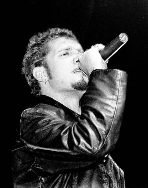 Layne Staley Wall Art - Photograph - Alice In Chains Singer Layne Stanley by Martyn Goodacre
