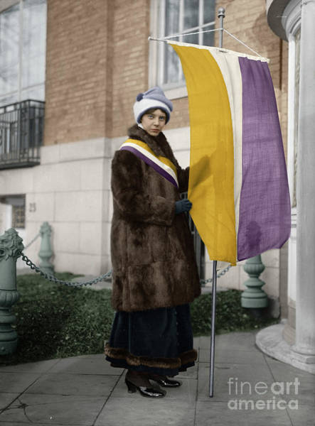 Photograph - Alice Paul by Granger