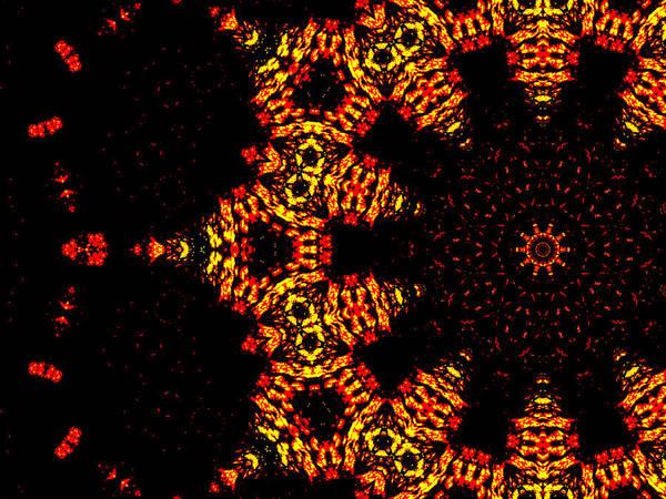 Digital Art - Alien Space Wars 7h by Artist Dot