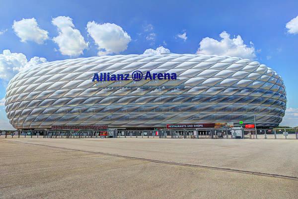 Wall Art - Photograph - Allianz Arena Bayern Munich by David Pyatt