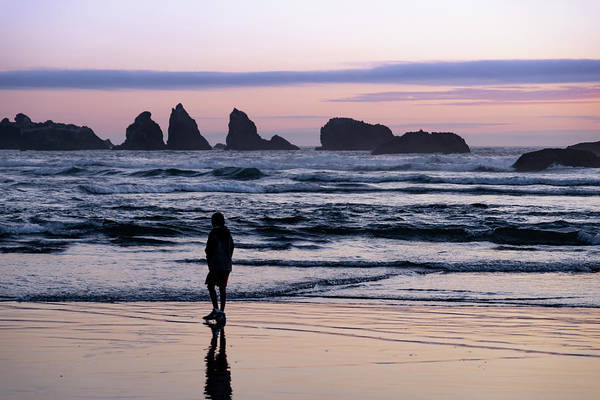 Photograph - Alone With Bandon by Steven Clark