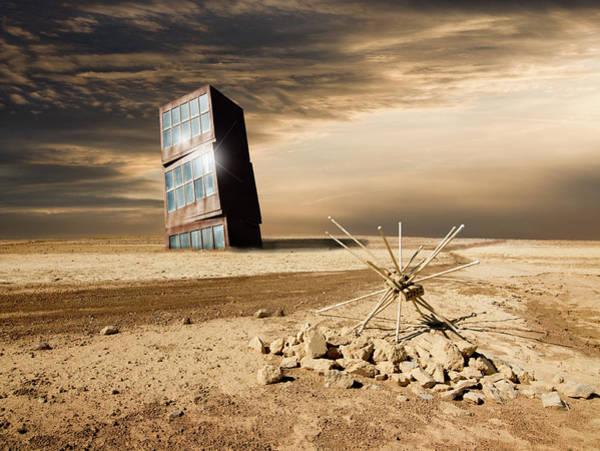 Digital Art - Along The Road by Marc Ward