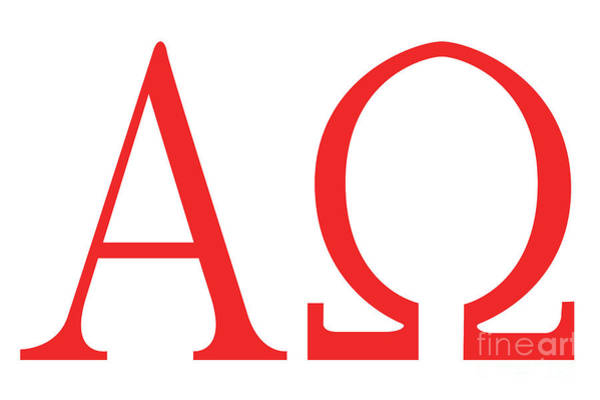 A To Z Digital Art - Alpha Omega by Bigalbaloo Stock