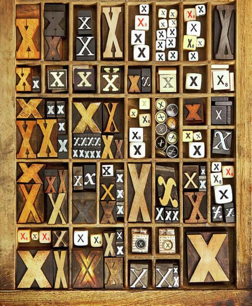 Wall Art - Photograph - Alphabet by Daryl Benson