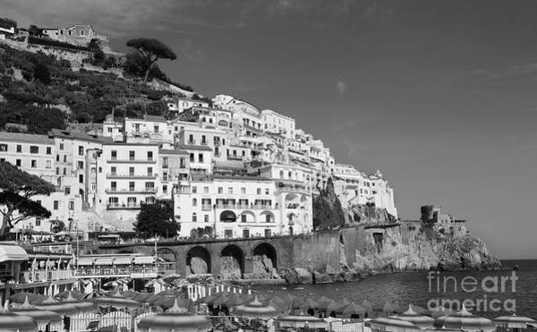 Photograph - Amalfi Port by Peter Skelton