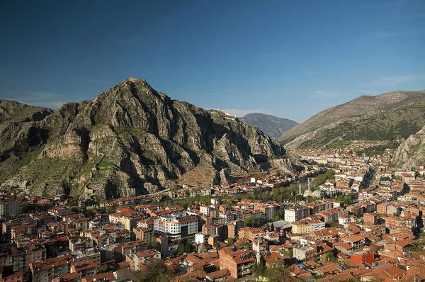 Eastern Anatolia Photograph - Amasya And Yesilirmak River by Izzet Keribar
