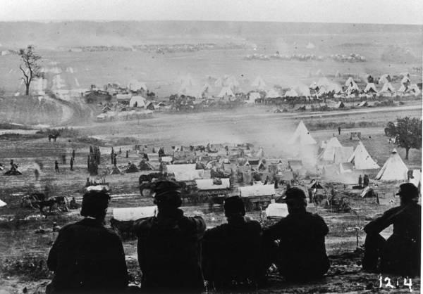 Civil Photograph - American Civil War by Fotosearch