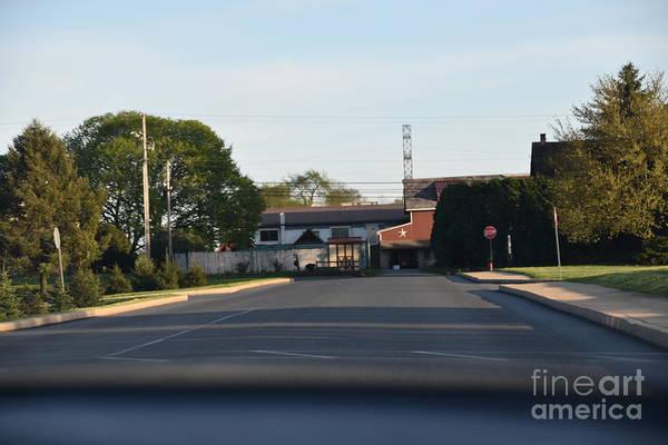 Photograph - Amish Farmstead Ahead by Christine Clark