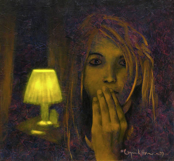 Painting - And Then The Phone Rang by Lynn Hansen