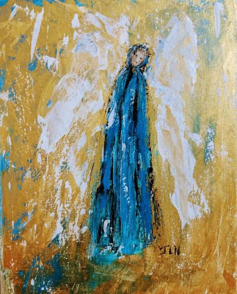 Painting - Angel Of Sympathy by Jennifer Nease