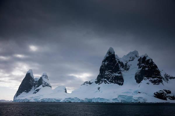 Storm Photograph - Antarctic Peninsula, Antarctica by Mint Images - Art Wolfe