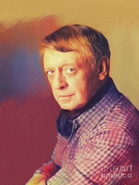 Wall Art - Painting - Anthony Burgess, Literary Legend by John Springfield