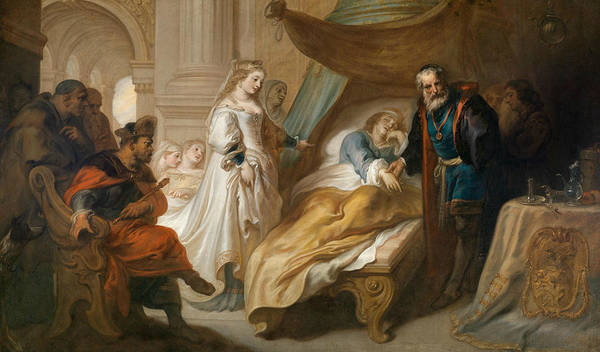 Painting - Antiochus And Stratonike by Theodoor van Thulden