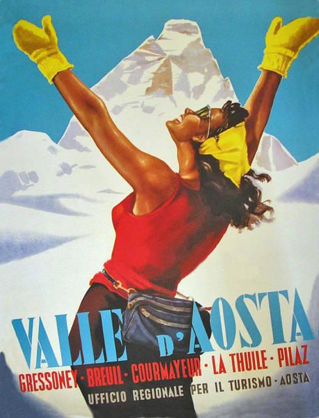 Valley Digital Art - Aosta Valley by Long Shot