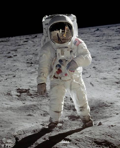 Photograph - Apollo 11, Astronaut Buzz Aldrin by Science Source