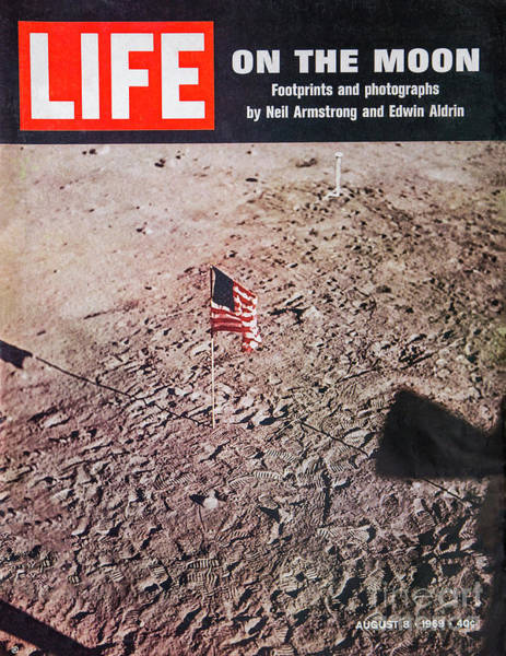Photograph - Apollo 11 Life Magazine Cover by Kevin McCarthy