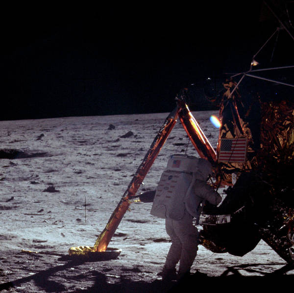 Wall Art - Photograph - Apollo 11, Neil Armstrong Eva, 1969 by Science Source