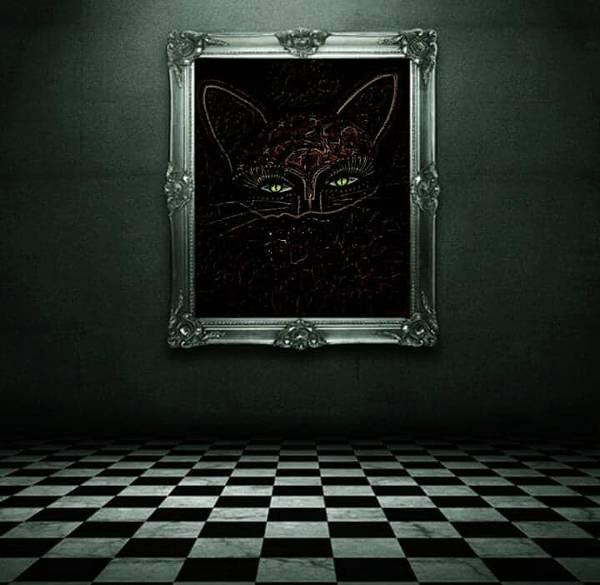 Digital Art - Appearance Of The Mystic Cat by Swedish Attitude Design