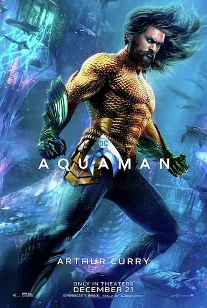 Aquaman Digital Art - Aquaman by Geek N Rock