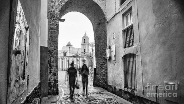 Photograph - Arch Of The Rose Cadiz Spain by Pablo Avanzini