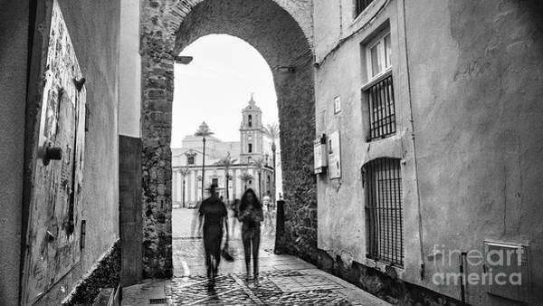 Photograph - Arch Of The Rose Cadiz Spain by Pablo Avanzini