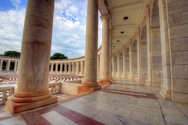 Department Of Defense Photograph - Arlington National Cemetery Memorial Amphitheater by Craig Fildes