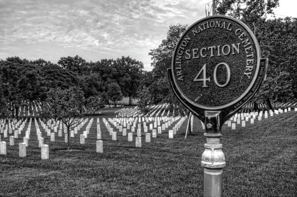 Department Of Defense Photograph - Arlington National Cemtery by Craig Fildes