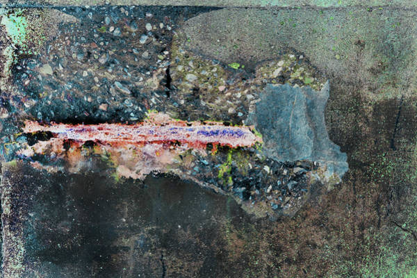 Photograph - Art Print Abstract 11 by Harry Gruenert