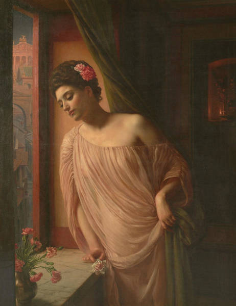 Wall Art - Painting - Asterie by Edward Poynter