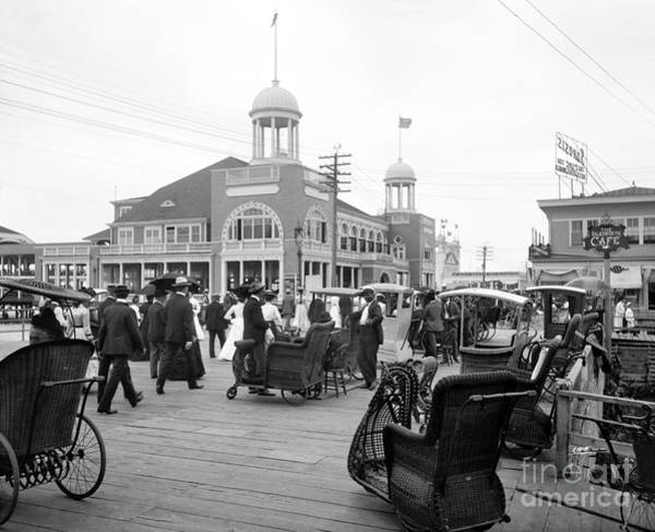 Photograph - Atlantic City, C1900 by Granger