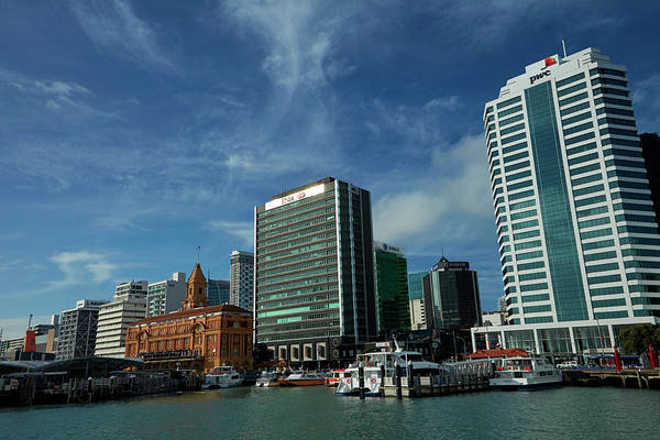Wall Art - Photograph - Auckland Ferry Terminal, And Historic by David Wall